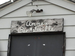 The Annex Bar & Grille Sign