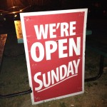 The Annex Is Now Open On Sundays!