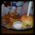 A Burger And A PBR