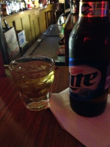 A Shot And A Beer