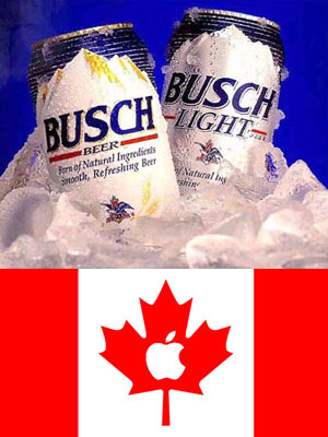 Busch & Canadian Apples