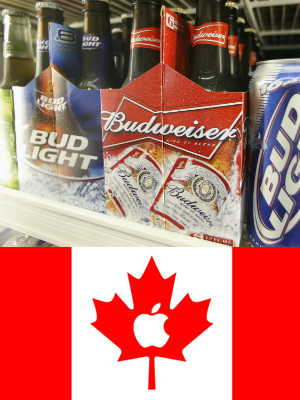 Bud, Bud Light & Canadian Applese