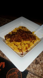 BBQ Beef Mac-N-Cheese