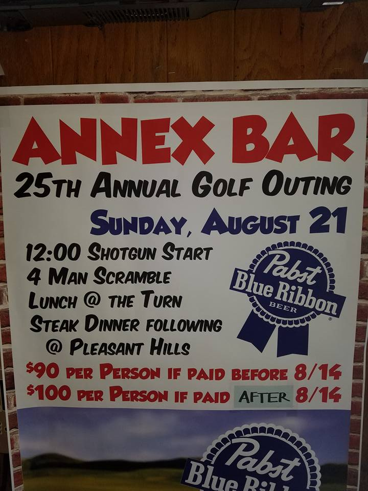 2016 Annex Golf Outing