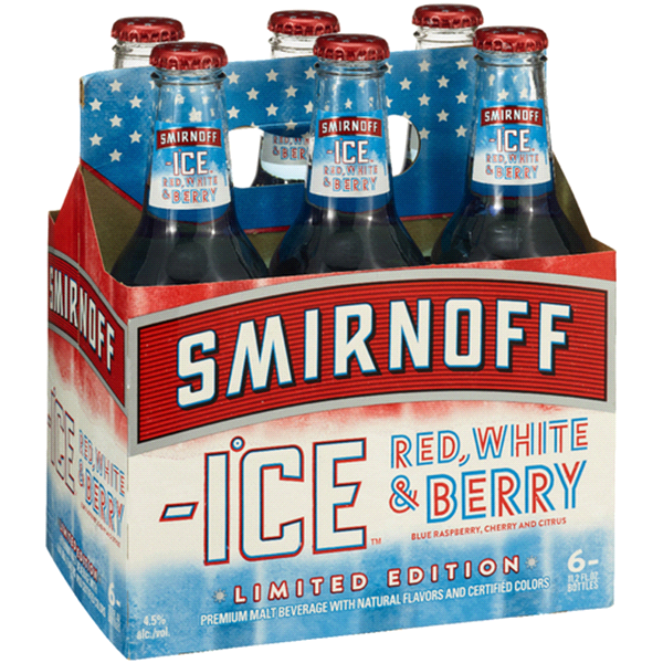 Smirnoff Ice Red White and Berry